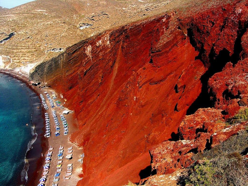 Αποτέλεσμα εικόνας για κόκκινη παραλία